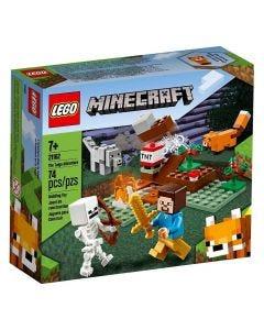 Lego Minecraft A Aventura Em Taiga 74 Peças - 21162