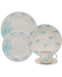 Jogo De Jantar Cerâmica 20 Peças Donna - Alca