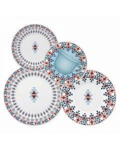 Jogo de Jantar 20 peças Biona Oxford - Geometrico