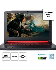 "Notebook Gamer Acer Aspire Nitro 5 i7/16GB/1TB Tela 15,6"" Acer - Preto"