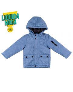 Jaqueta de 1 a 3 Anos Linho Falso Yoyo Kids Azul