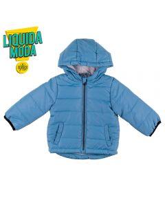 Jaqueta de Bebê Nylon Yoyo Baby Azul