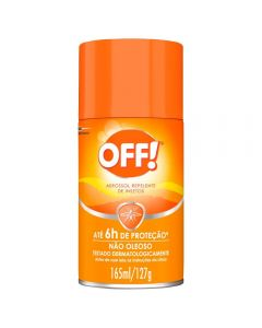 Aerossol Repelente 165Ml Off - Incolor