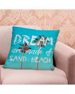 Almofada 48x48cm Linen Náutica - Dream