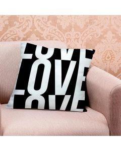 Almofada de Veludo Estampada 48x48cm - Lovely