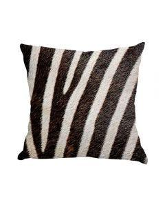 Almofada De Veludo Estampada 48X48cm - Zebra Print