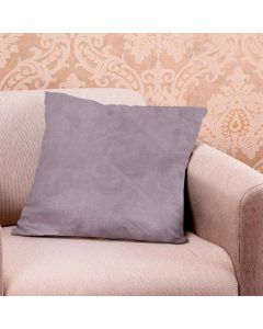 Almofada Decorativa 45x45cm 100% Poliéster Havan - Cinza