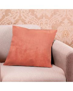 Almofada Decorativa 45x45cm 100% Poliéster Havan - Laranja Escuro