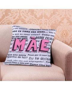 Almofada Decorativa 45x45cm Data Especial - Conselhos de Mãe