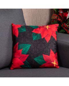 Almofada Decorativa 45X45cm Natal - Flor Arabesco