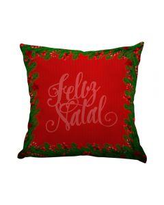 Almofada Decorativa 45X45cm Natal - Galhos