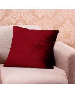 Almofada Decorativa 50x50cm em Veludo Italiano - Bordo