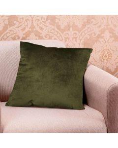 Almofada Decorativa 50x50cm em Veludo Italiano - Verde