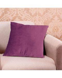 Almofada Decorativa 50x50cm em Veludo Italiano - Rose