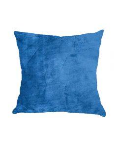 Almofada Decorativa 50X50cm Em Veludo Italiano - Azul Marinho