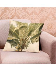 Almofada Decorativa Linen 48x48cm Estampada - Coco
