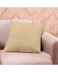 Almofada Decorativa Linen 48x48cm Estampada - Linho Bege