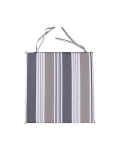Almofada Decorativa Quadrada 40x40cm para Cadeira - Cinza
