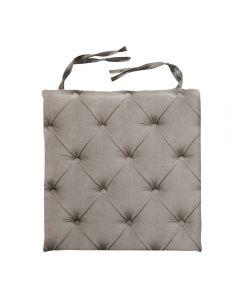 Almofada Decorativa Quadrada 40X40cm Para Cadeira - Bege Claro