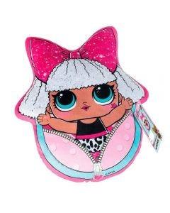 Almofada Infantil 34X40 LOL Diva - Rosa