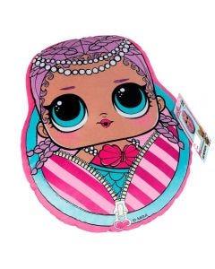 Almofada Infantil 34X40 LOL MerBaby - Roxo Com Rosa