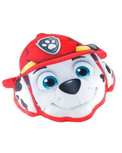 Almofada Infantil Patrulha Canina Marshall Lepper - Vermelho