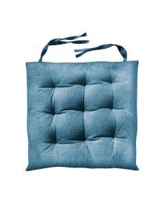 Almofada Quadrada para cadeira 40x40cm Futton - Azul Marinho