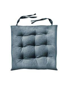 Almofada Quadrada para cadeira 40x40cm Futton - Cinza