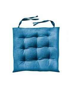 Almofada Quadrada Para Cadeira 40X40cm Futton - Azul Claro