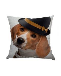 Almofada Teen Decorativa 45X45cm Estampada - Lady Beagle