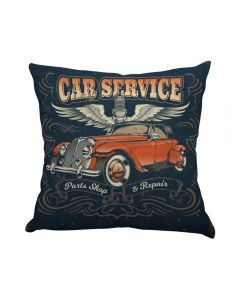 Almofada Teen Decorativa 45X45cm Estampada - Car Service