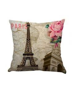 Almofada Teen Decorativa 45X45cm Estampada - Paris