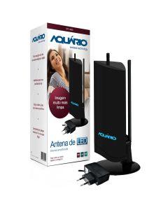 Antena Interna Amplificada Aquario DTV-4600 - Bivolt