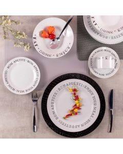 Aparelho de Jantar 20 Peças Bon Appétit Solecasa - Porcelana
