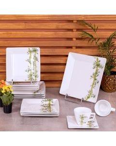 Aparelho de Jantar 20 peças Quartier Bamboo - Branco