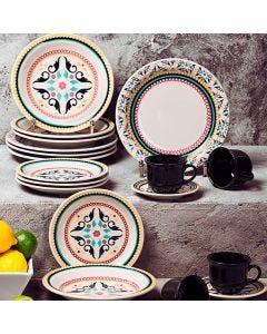 Aparelho de Jantar e Chá 30 peças Oxford Daily - Luiza
