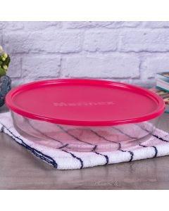 Assadeira Redonda com Tampa 2,4 litros - Marinex - Colors