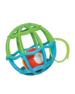 Baby Ball Com Luz e Som 5848 Buba - Azul