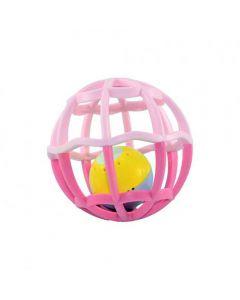 Baby Ball Com Luz e Som 5848 Buba - Rosa