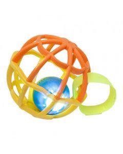 Baby Ball Com Luz e Som 5848 Buba - Laranja