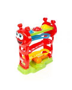 Baby Peia Rampa Com Bolinhas 4155 Maral - Vermelho