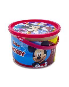 Balde de Massinha com Acessórios Etitoys DY-939 - Mickey