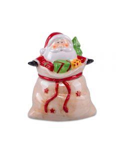 Baleiro Papai Noel Presente 16x13 cm Havan - Colorido