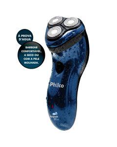 Barbeador Bivolt da Philco Aqua Blue À prova d'água - Bivolt