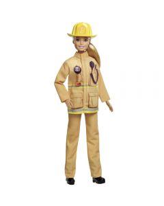 Barbie 60 º Aniversário Profissões Mattel - Bombeira