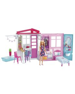 Barbie Casa Glamour Com Boneca FXG55 Mattel - Colorido