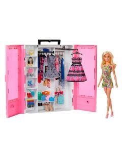 Barbie Closet de Luxo Mattel - GBK12 - Rosa