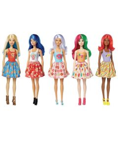 Barbie Color Reveal Estilo Surpresa Comidas Mattel - GTP89