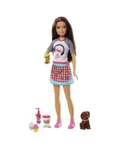 Barbie Cozinhando e Criando FHP61 Mattel - Sorvete