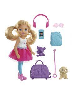 Barbie Explorar e Descobrir Chelsea Mattel - FWV20 - Rosa
